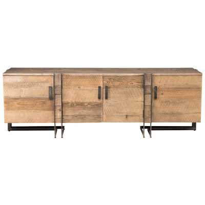 """Martine Solid Wood TV Stand for TVs up to 88"""" - Perigold"""