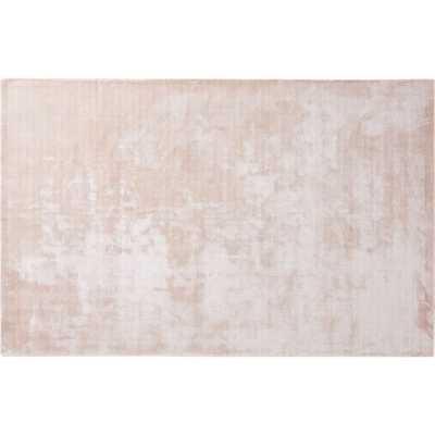Posh Pink Distressed Rug 5'x8' - CB2