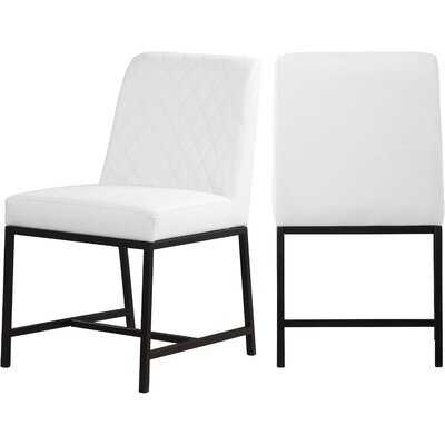 Bassick Upholstered Dining Chairs (set of 2) - Wayfair