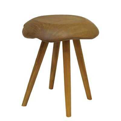 Fegan Solid Wood Accent Stool - Wayfair