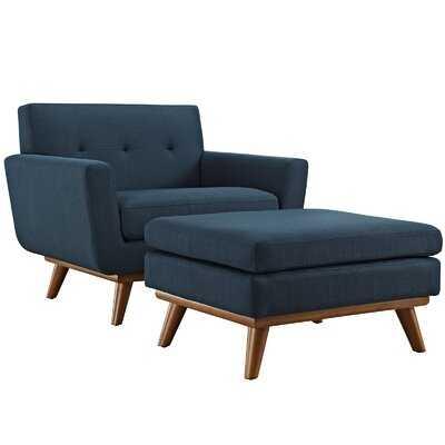 Acevedo Club Chair and Ottoman - Wayfair