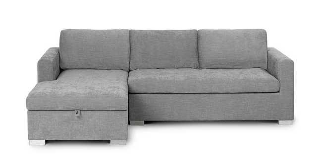 Soma Dawn Gray Left Sofa Bed - Article