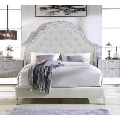 Trevon Upholstered Platform Bed - Wayfair