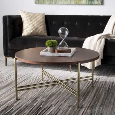 Cassie Cocktail Table - Stained Walnut - Arlo Home - Arlo Home