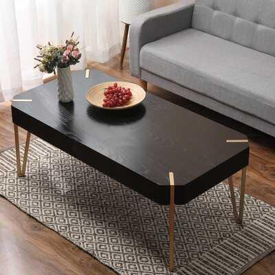 Wood And Metal Coffee Table - Wayfair