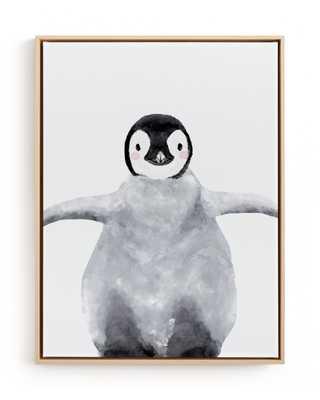 Baby Animal Penguin Children's Art Print - Minted