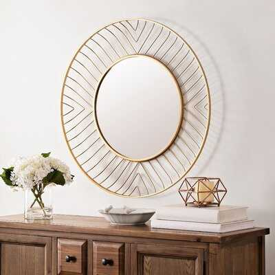 Mercury Fonna Accent Mirror - Wayfair