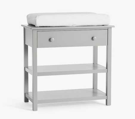 Kendall Changing Table with Drawer, Gray, UPS - Pottery Barn Kids