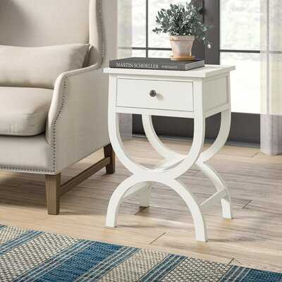 Ellory End Table with Storage - Birch Lane