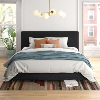 Omar Upholstered Low Profile Platform Bed - Wayfair