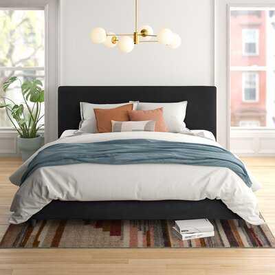 Omar Upholstered Low Profile Platform Bed - Wayfair
