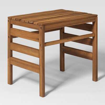 Dravin Outdoor Side Table - Wayfair