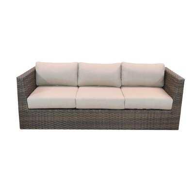 Cribbs Patio Sofa with Sunbrella Cushions - Wayfair