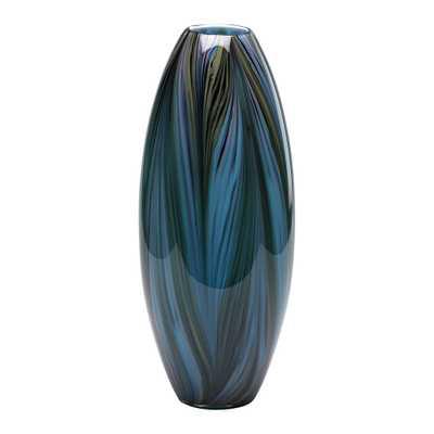 Peacock Feather Vase - Onyx Rowe