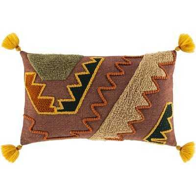 Casares Cotton Chevron Lumbar Pillow Cover - Wayfair