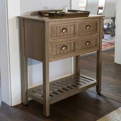 Rosas 4 Drawer Console Table - Wayfair