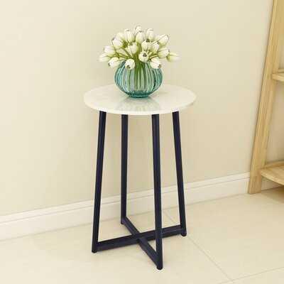 Adje Cross Legs End Table - Wayfair