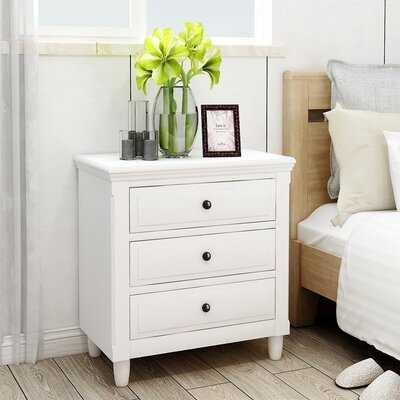 Brailynn 3 - Drawer Nightstand - Wayfair