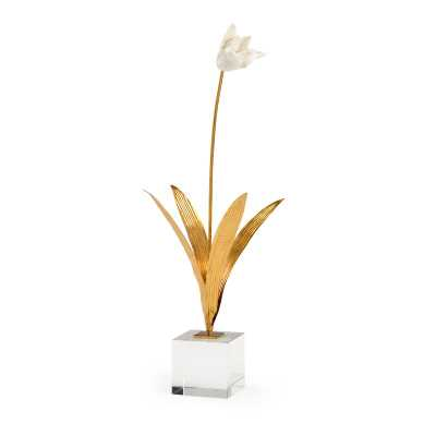 Chelsea House Tulip Stem in Stand - Perigold