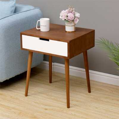 Warnock 1 Drawer Nightstand - Wayfair