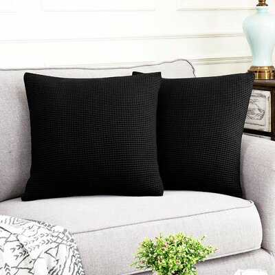 "Bowers Indoor / Outdoor 18"" Throw Pillow Cover - Wayfair"