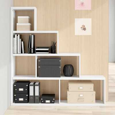 Greta Step Bookcase - Wayfair