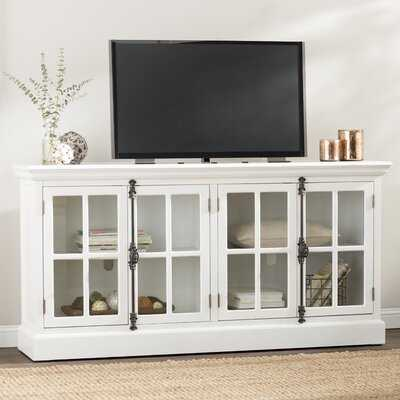 """Princetown Solid Wood TV Stand for TVs up to 78"""" - Wayfair"""