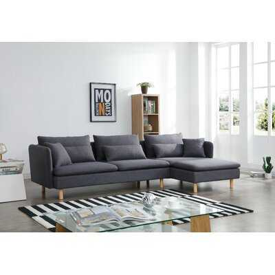 Dorrell Reversible Sectional - Wayfair