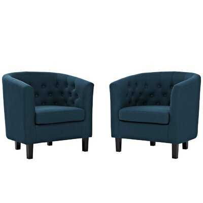 "Ziaa 21"" Armchair (set of 2) - Wayfair"