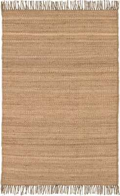 "Jute - JUTE NATURAL - 8' x 10'6"" - Neva Home"