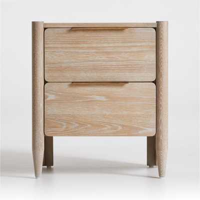 Casa Oak Nightstand - Crate and Barrel