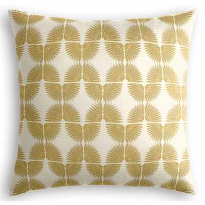 Tribal Square Cotton Pillow Cover & Insert - Wayfair
