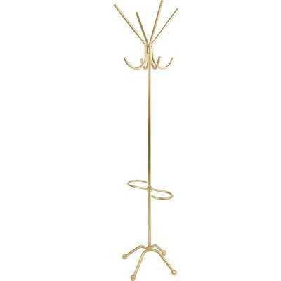 Metal 8 - Hook Freestanding Coat Rack - Wayfair