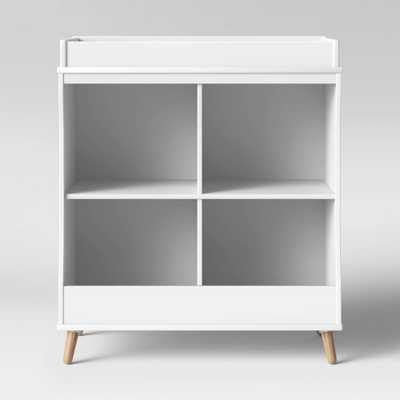 Delta Children Essex Changing Table/Bookcase - Bianca White - Target