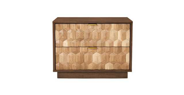 Geome 2 Drawer Nightstand - Article