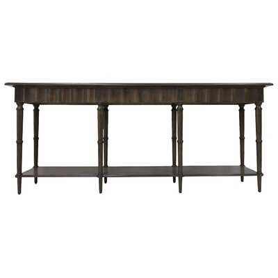 """Braselton 84"""" Solid Wood Console Table - Wayfair"""