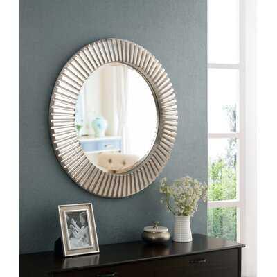 Round Eclectic Mirror - Wayfair