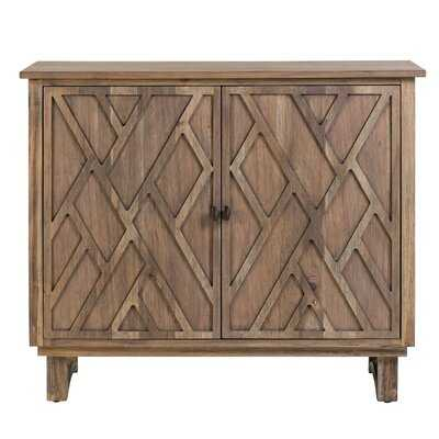 Westling Chippendale Fretwork 2 Door Accent Cabinet - Wayfair