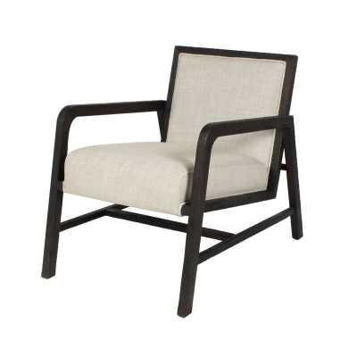 Blink Home Coronado Armchair Upholstery: Sand, Finish: Ebony - Perigold