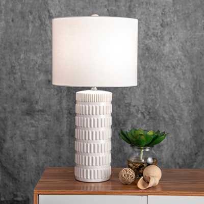 """Franklin 25"""" Ceramic Table Lamp - Loom 23"""