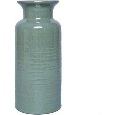 Green Ceramic Vase - Wayfair