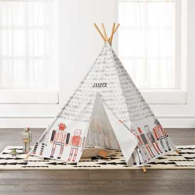 Robot World Teepee - Crate and Barrel