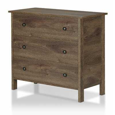 Rudy 3 Drawer Bachelor's Chest - Wayfair