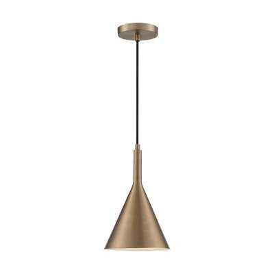 Tappahannock 1 - Light Single Cone Pendant - AllModern
