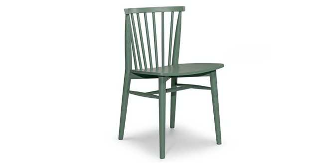 Rus Norfolk Green Dining Chair (Set of 2) - Article
