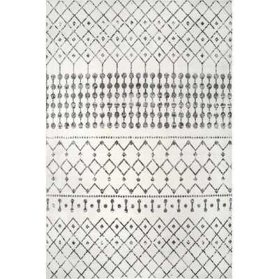 Connie Southwestern Gray Indoor / Outdoor Area Rug - Wayfair
