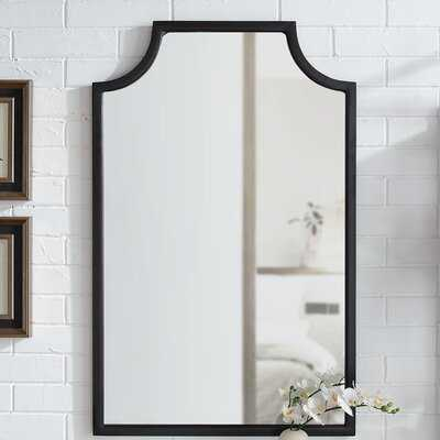 Glaucia Oil-Rubbed Bronze/Gold Wall Accent Mirror - Wayfair