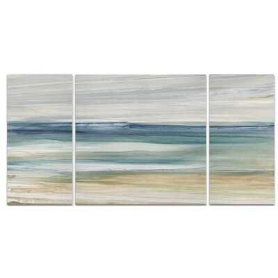 A Premium Ocean Breeze Graphic Art Print Multi-Piece Image on Wrapped Canvas - Wayfair