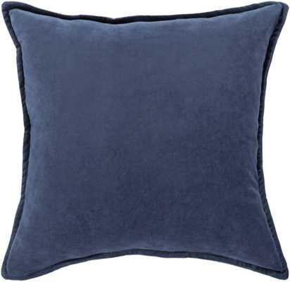 "Cotton Velvet - CV-016 - 22"" x 22"" - pillow cover only - Neva Home"