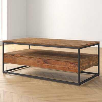 Caroline Rustic 2 Piece Coffee Table Set - Wayfair
